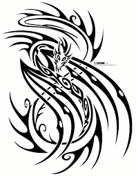 outline deer tribal tattoo design in 2017 real photo pictures