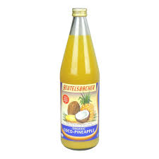 Southern Comfort And Pineapple Juice Beutelsbacher Organic Coco Pineapple Juice 750ml