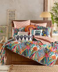 Moroccan Coverlet Floral Luxury Quilt Full Queen Main View Room Stuff