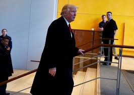 how to write a reflection paper on an interview how to manipulate donald trump us president elect donald trump leaves after a meeting at the new york times on