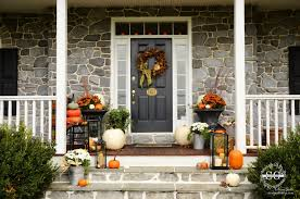 Front Porch Decor Ideas by 90 Fall Porch Decorating Ideas Fall Porch Decorating Ideas 90