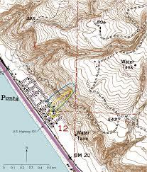 Map Of Santa Monica Usgs Of 2005 1067 Landslide Hazards At La Conchita California