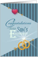 Engagement Congratulations Card Engagement Congratulations For Parents Of The Groom Cards From