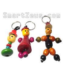 baby keychains wooden doll keychains set of 3 smartzeus