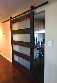 Custom Contemporary Sliding Barn Doors Custom Design Build U0026 Ship Us