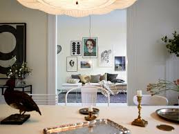 nordic decoration white swedish apartment with great art home decoration