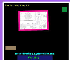 Free Wood Puzzle Box Plans by Free Puzzle Box Plans Pdf 152524 Woodworking Plans And Projects