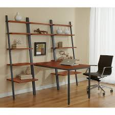Desk And Bookshelves by Furniture Elegant Office Room Design With Cozy Cream Desk And