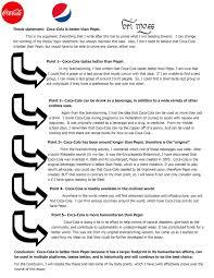 Pepsi Blind Taste Test Ga Homework Owaranai Railway Conductor Cover Letter A Major Life