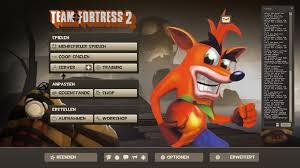 tf2 halloween background hd crash b tf2 menu characters team fortress 2 u003e guis u003e menu