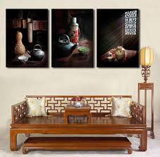 aliexpress com buy 3 pcs vintage country life painting canvas