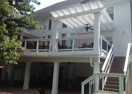 Build A Pergola On A Deck by Screened Porch Addition With Windows To Keep Out Pollen