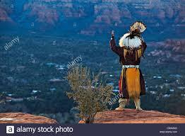 native american american indian celebrating the sunrise ceremony
