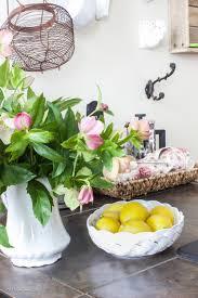 Spring Decor 2017 Sprucing Up Kitchen Decor For Spring