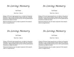 obituary template free download edit fill create and print