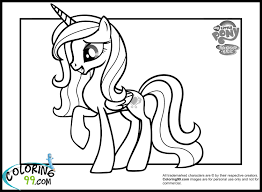 fresh my little pony princess cadence coloring pages 60 with