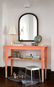 ikea entryway table ikea svalbo dipped furniture hack the sweet beast