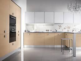Beech Wood Kitchen Cabinets by Gray White Beige Kitchen Scandinavian Kitchens And Design