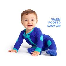 baby footed pajamas sleepsie quilted baby deedee