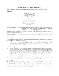 alberta mobile home lot lease agreement legal forms and business