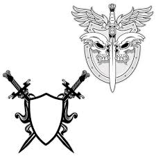 view 16 sword designs meanings tattoos shield meaning
