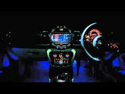 mini clubman tech hub interior lighting