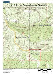 Colorado County Map by 41 Acres In Eagle County Colorado Surrounded By Blm U2013 Land For Sale