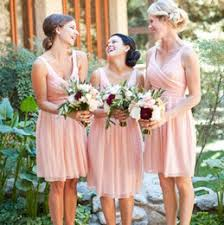 Light Pink Short Bridesmaid Dresses Distributors Of Discount Cheap Wedding Guest Dresses For Fall