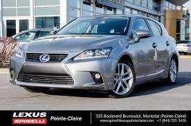 lexus hybrid a vendre 2017 lexus ct 200h hybrid touring demo rebate 2500 used for sale