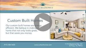 High Efficiency Homes Cullers Homes Best Home Builder In El Paso Custom U0026 New Homes