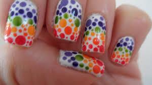 nailificent rainbow nail art