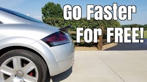 3 ways to make your car faster for free youtube