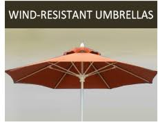 Windproof Patio Umbrella Umbrellas For Outdoors Patio Wood Umbrellas More