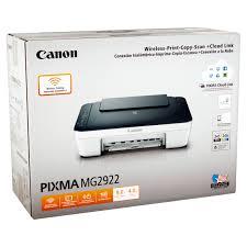 canon pixma mg2922 wireless print copy scan cloud link walmart com