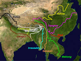 Tibetan Plateau Map File Rivers With Sources In Tibet Svg Wikimedia Commons