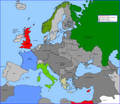 Europe After World War 1 Map by World War I The Buildup The Outbreak And Early Days Page 4