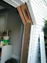 diy door frame garage door frame kit exterior repair window snap on maintenance