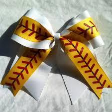 softball ribbon shop softball hair bows on wanelo