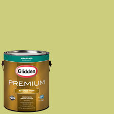 glidden premium 1 gal hdgg14 granny smith apple semi gloss latex