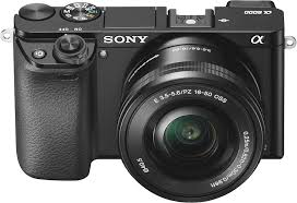 sony camera black friday sony alpha a6000 mirrorless camera with 16 50mm retractable lens