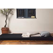 canapé lit muji muji matelas d appoint muebles matelas pratique et