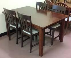 uhuru furniture u0026 collectibles sold modern asian dining set