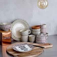buy bloomingville copper u0027coffee tea u0027 canisters amara