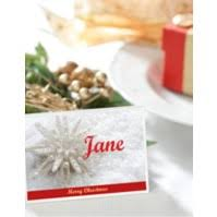 Design Your Own Place Cards Create Your Own Christmas Place Cards Avery