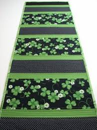 st patrick s day table runner simple st patrick s day table runner saints table runner