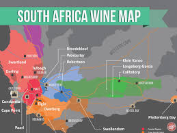 Wisconsin Winery Map by South African Wine With Maps Wine Folly
