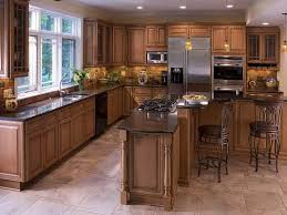 Kitchen Classic Cabinets Dark Brown Kitchen Cabinets Pictures Of Kitchens Traditional Dark