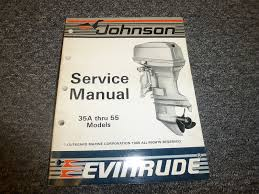 1987 johnson evinrude 35 40 45 48 50 55 hp motor shop service