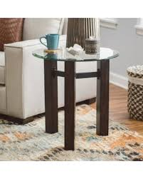 belham living trenton industrial end table here s a great deal on belham living hanover glass wood end table