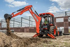 kubota kicks off 2016 with two new tractor loader backhoe